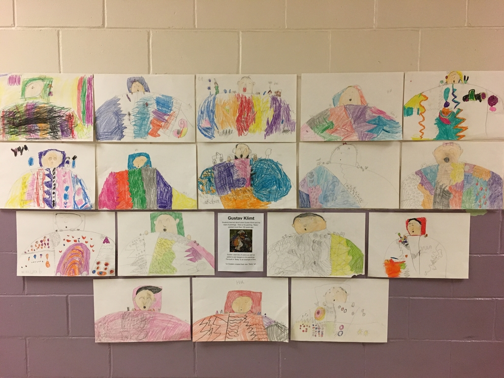 "1st Grade ""Baby"" Artwork"