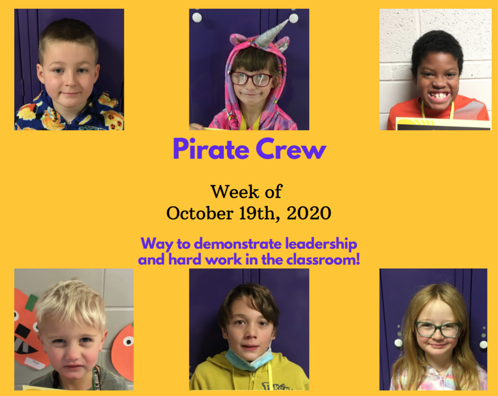 Pirate Crew: Wk of October 19, 2020
