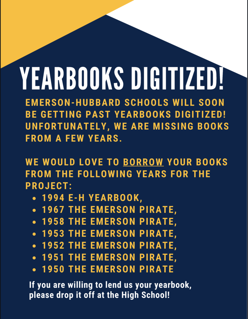 Yearbooks Needed