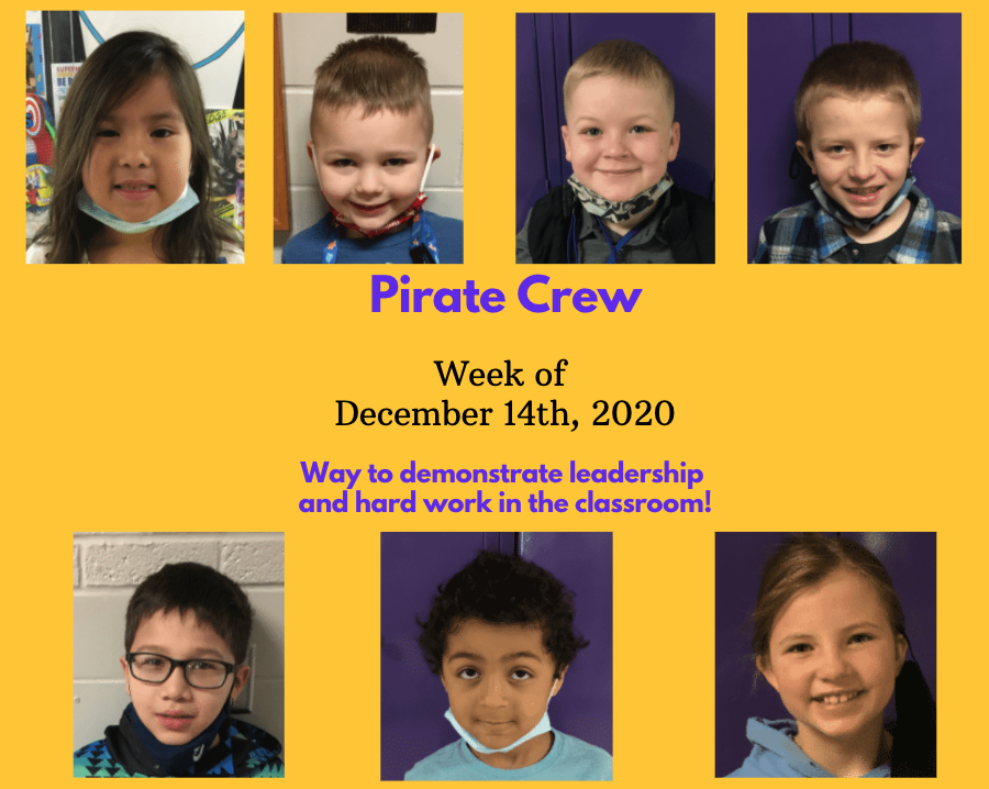 Pirate Crew: Week of December 14, 2020