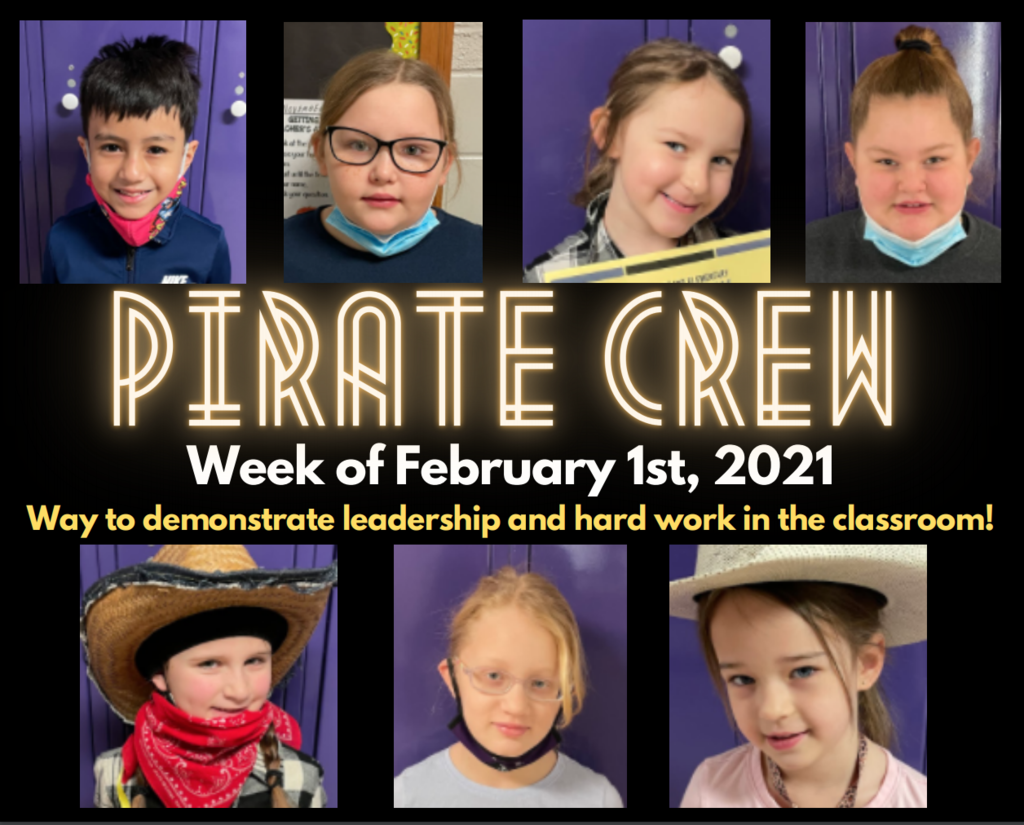 Pirate Crew: Week of February 1st, 2021