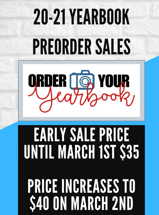 Yearbook Sale Flier 3
