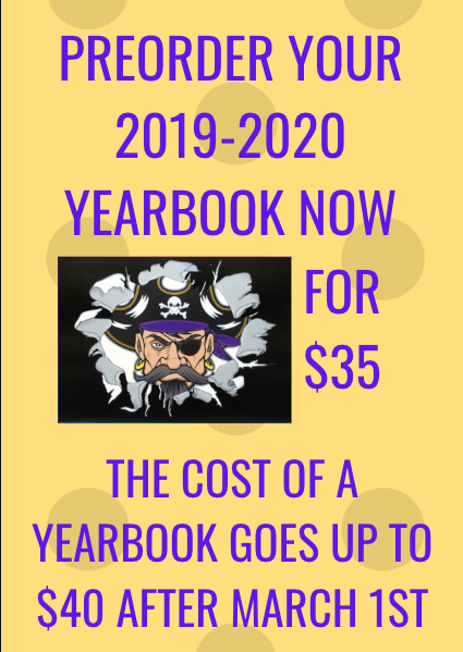 Yearbook Flier