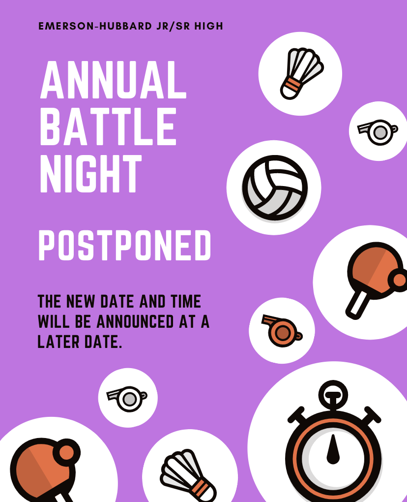 Battle Night Postponed