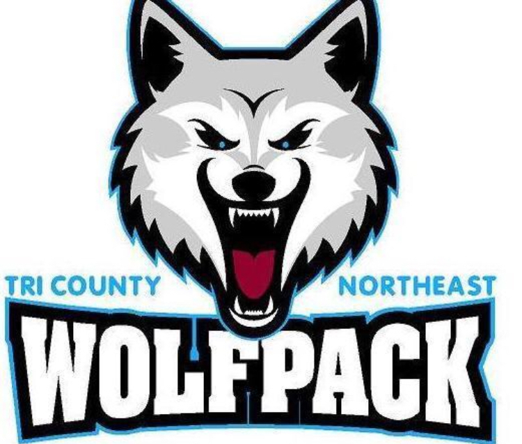 Tri County Northeast Wolfpack Volleyball goes 1-1 tonight at Ponca Triangular.